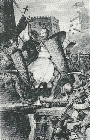 GERMANIC knights storm Jerusalem in 1099. The short-lived conquest of Palestine hardly repaid the loss in European blood, and every Western intervention since then has ill served Western interests.