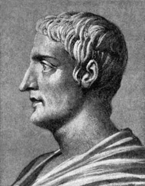 Gaius Cornelius Tacitus, the Roman historian.