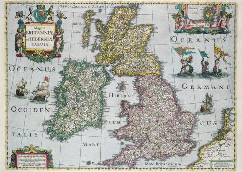 United Kingdom Antique Map