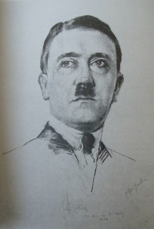 Adolf Hitler Drawing