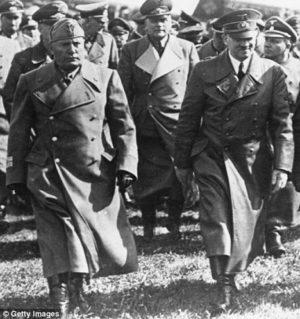 Mussolini & Hitler