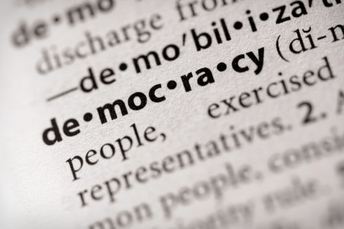 Dictionary Series - Politics: democracy