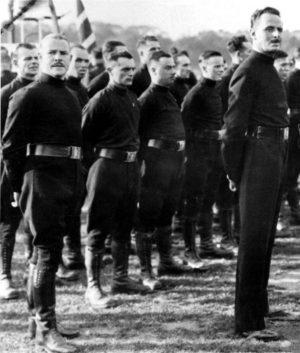 Sir Oswald Mosley and Blackshirts
