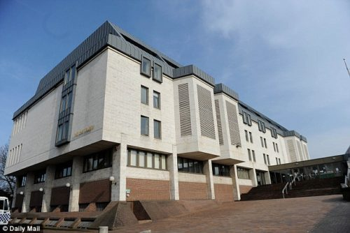 She escaped the three-hour ordeal only after punching and headbutting the men as her friend fetched a neighbour and begged him to intervene, Maidstone Crown Court heard (above)