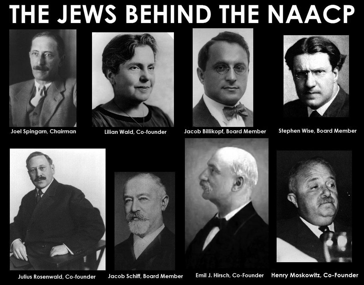 Bildresultat för jews behind naacp