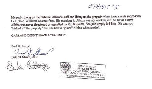 Fred's affidavit 5