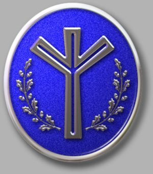 natall-blue-and-white-oval-life-rune-badge