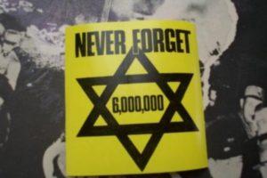 Holocaust never forget