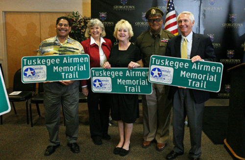 Announcement of naming I-75 in Kentucky the Tuskegee Airmen Memorial Trail.