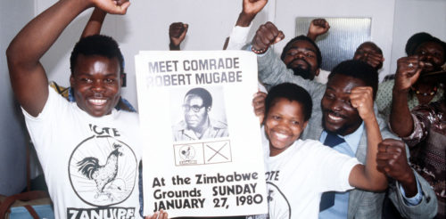 ZANU SUPPORTERS : 1980