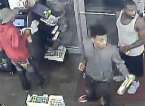 Three of the four Black suspects: they beat Nancy Quest with her own walker