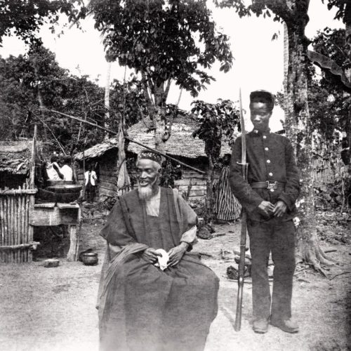 Bai Bureh, leader of the Temne rebellion against the Hut tax in 1898