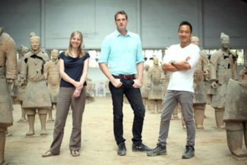 The show is presented by Dr Alice Roberts, Dan Snow and Dr Albert Lin.