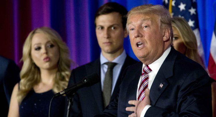 Donald Trump,Tiffany Trump,Jared Kushner