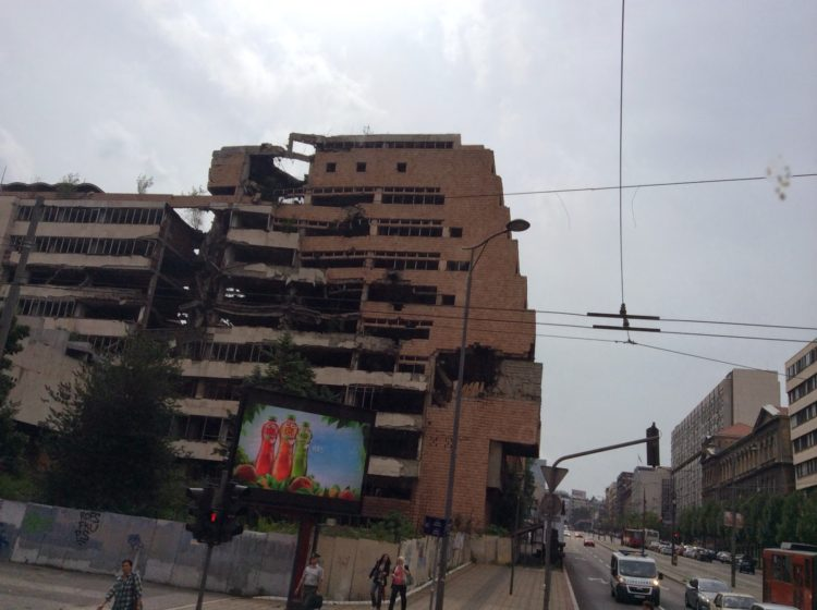 More than 2.500 civilians were killed in the US/NATO bombing of Serbia, the scars of which are still visible in Belgrade. This is a much larger loss of life, proportionally than the 9/11 attacks caused in the US.