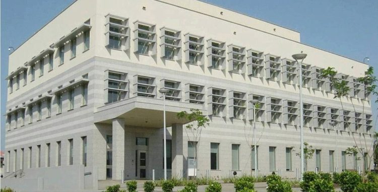The real US embassy in Accra, Ghana.