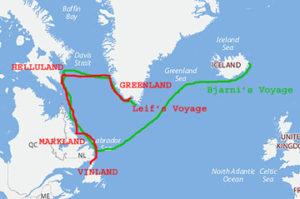 Iceland-Greenland-Helluland-Markland-Vinland