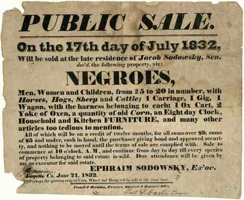 Sodowsky-Slave-Sale-Announcement-1832