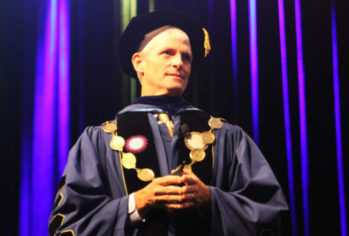 Marquette University President Michael Lovell
