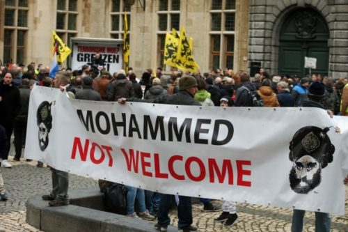 Anti-Muslim protests have been growing in Austria.