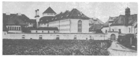Landsberg Prison, where most of Mein Kampf was written.