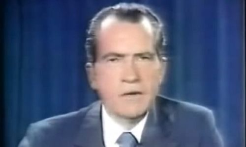 Nixon announces the end of gold convertability
