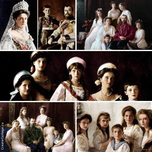 Collage-Tsar-and-family