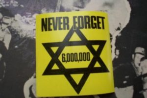 Holocaust never forget