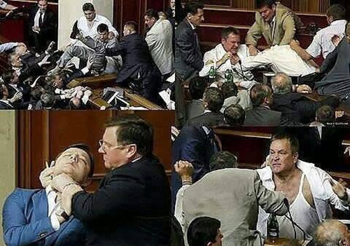 Chaos in the Rada