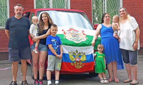 The family want to remain in Russia but are running out of money.