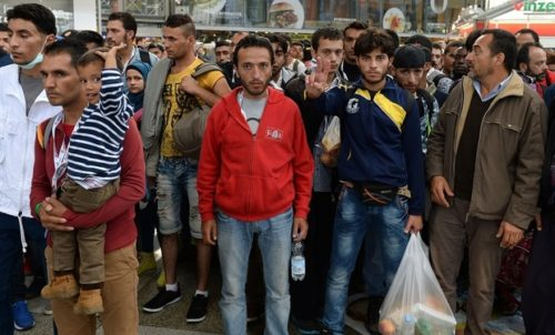 GERMANY-EUROPE-MIGRANTS-ARIIVAL