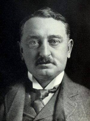 Cecil Rhodes, protégé of the Rothschild dynasty and prime minister of the Cape Colony