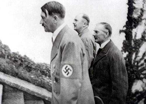 "Neville Chamberlain's policy of ""appeasement"" should have extended to support for all aspects of Hitler's policy."