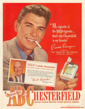 reagan_chesterfield_cigarettes