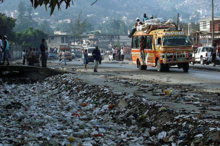 Haitian street scene