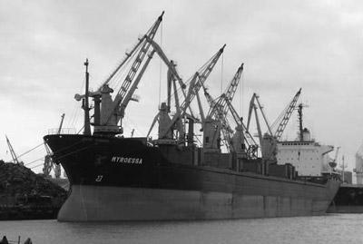 Soviet Bulk Carrier Pyotr Vasev
