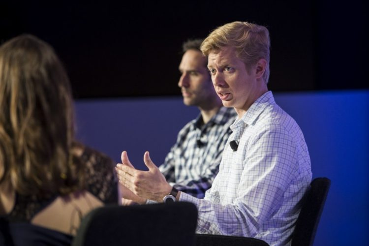 Steve Huffman and Emmett Shear speak at the Washington Post's Transformers event