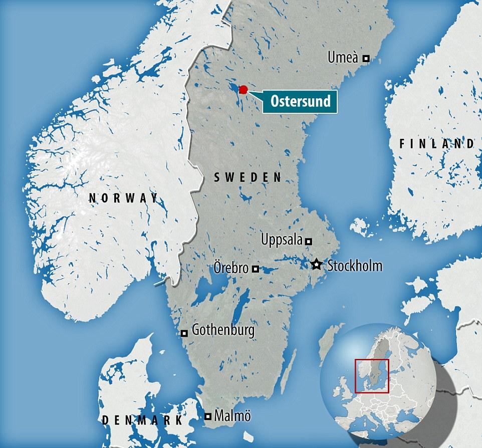 Sweden TwoMonth Sentence Too Long For Invaders Violent Rape - Sweden map ostersund