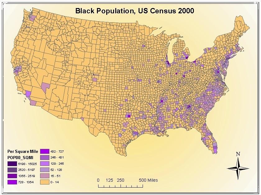 High Black Populations Not Democratic Mayors Explain Poverty - Us crim map