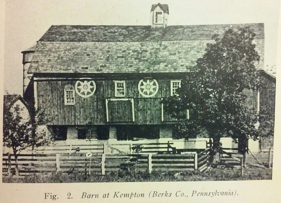 The Ancient European Roots Of Pennsylvania Dutch Barn Symbols