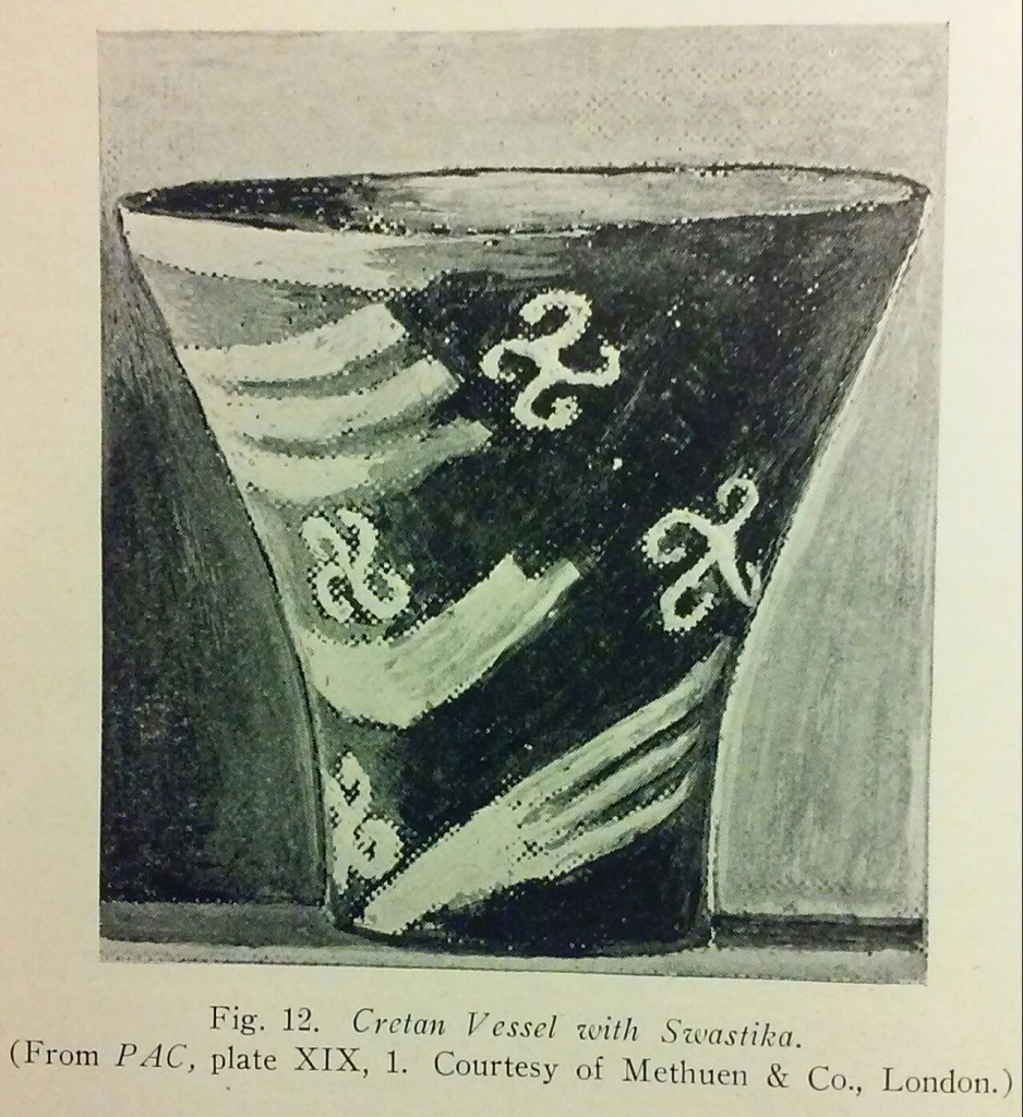 The ancient european roots of pennsylvania dutch barn symbols from brittany france used for the marking of consecrated bread fig 13 the design far from being christian is a swastika like symbol found biocorpaavc Images