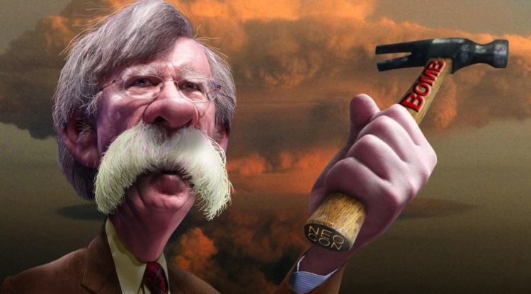 Image result for trump bolton and war
