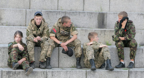 Ukraine conscripts